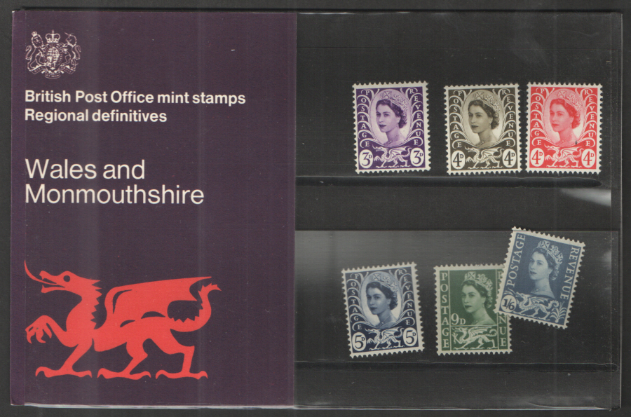 1970 Wales Definitive Royal Mail Presentation Pack 24